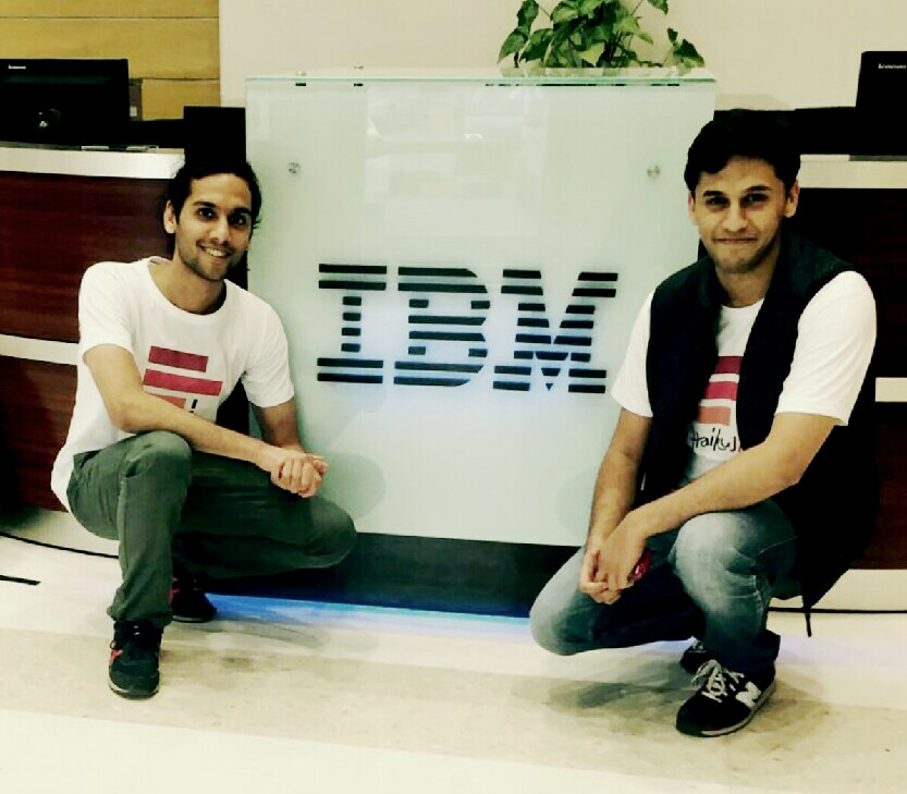 Team HaikuJAM at IBM India!